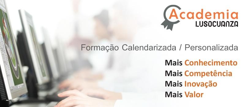 Formação Calendarizada / Personalizada - A Academia da Luso Cuanza tem ao seu dispor cursos focalizados nas necessidades objetivas de cada cliente.