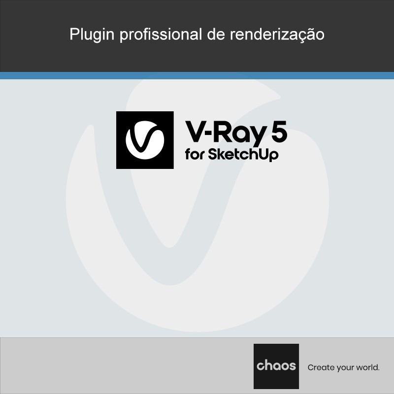 O V-Ray for SketchUp é dirigido aos profissionais que pretendem fazer renders de qualidade, de forma fácil e a um custo acessível.