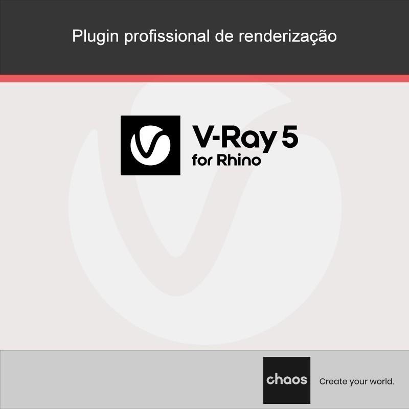 O software V-Ray Next for Rhino da Chaos Group oferece aos profissionais da indústria de visualização uma solução de alta qualidade na produção com um realismo incomparável.